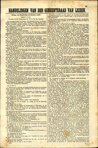 Handelingen van de Raad 1873-10-16