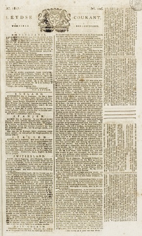 Leydse Courant 1817-09-03