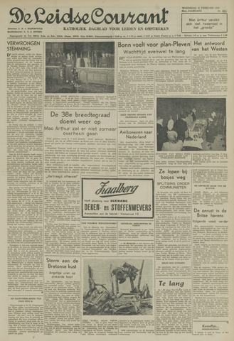 Leidse Courant 1951-02-21