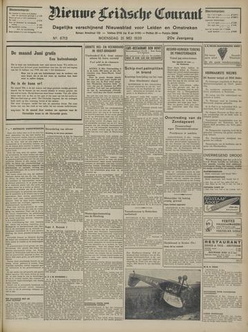 Nieuwe Leidsche Courant 1939-05-31