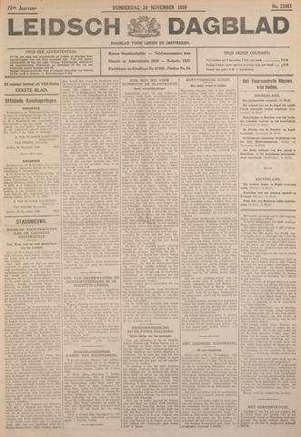Leidsch Dagblad 1930-11-20