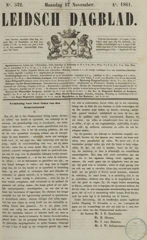 Leidsch Dagblad 1861-11-18