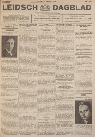 Leidsch Dagblad 1930-01-14