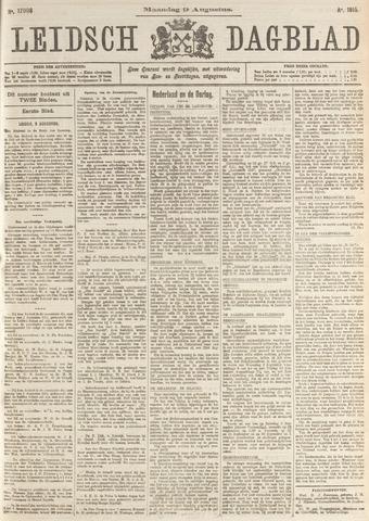Leidsch Dagblad 1915-08-09