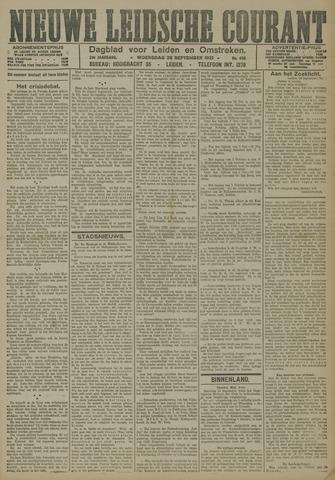 Nieuwe Leidsche Courant 1921-09-28