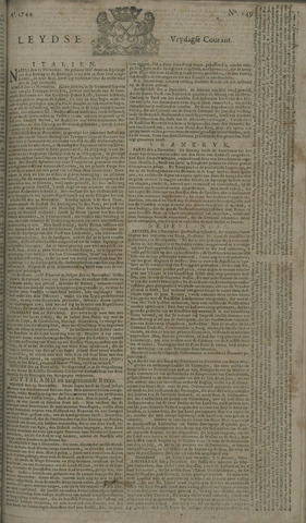 Leydse Courant 1744-12-11