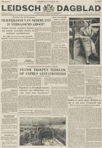 Leidsch Dagblad 1956-08-30