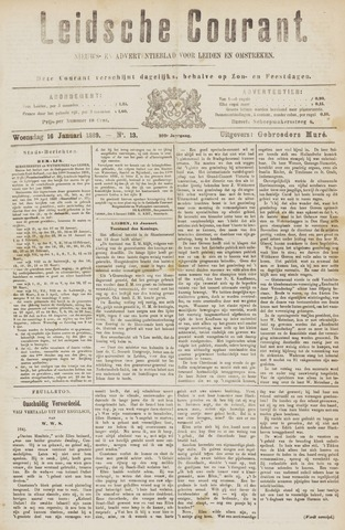 Leydse Courant 1889-01-16