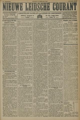 Nieuwe Leidsche Courant 1927-02-18