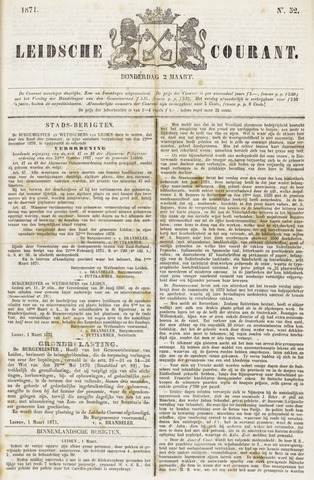 Leydse Courant 1871-03-02