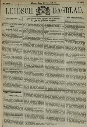 Leidsch Dagblad 1890-10-18