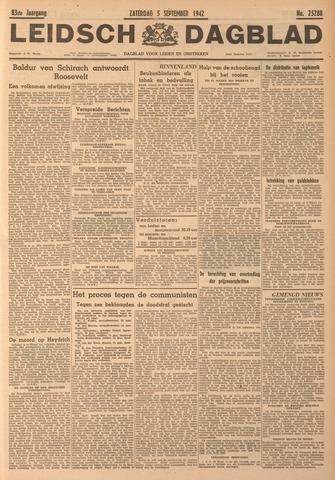 Leidsch Dagblad 1942-09-05