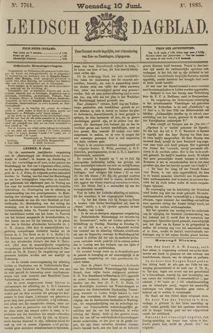 Leidsch Dagblad 1885-06-10