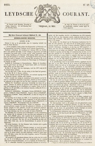Leydse Courant 1855-05-11