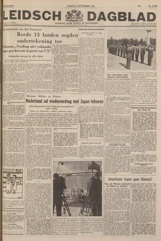 Leidsch Dagblad 1951-09-07