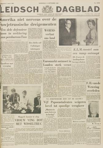 Leidsch Dagblad 1962-09-12
