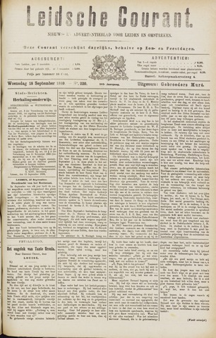 Leydse Courant 1889-09-18