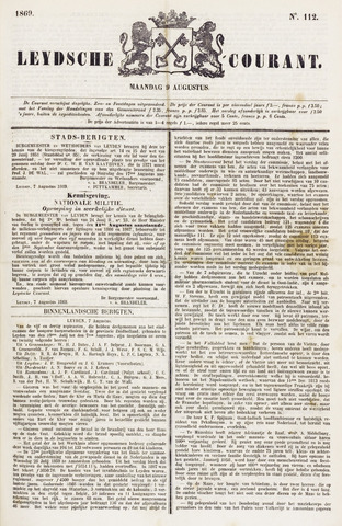 Leydse Courant 1869-08-09