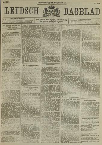 Leidsch Dagblad 1911-09-21