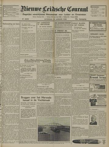 Nieuwe Leidsche Courant 1938-01-22