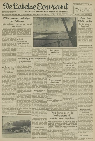 Leidse Courant 1949-10-20