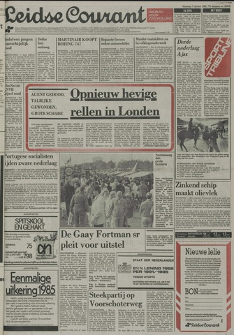 Leidse Courant 1985-10-07