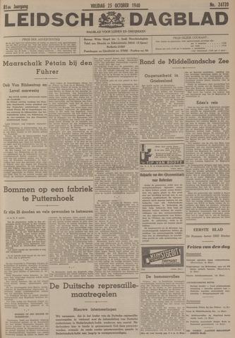 Leidsch Dagblad 1940-10-25