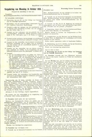 Handelingen van de Raad 1938-10-24