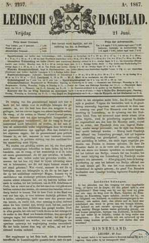 Leidsch Dagblad 1867-06-21