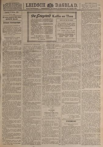 Leidsch Dagblad 1919-10-11