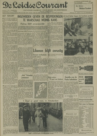 Leidse Courant 1958-09-25