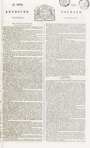 Leydse Courant 1839-08-28