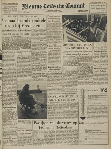 Nieuwe Leidsche Courant 1957-09-12