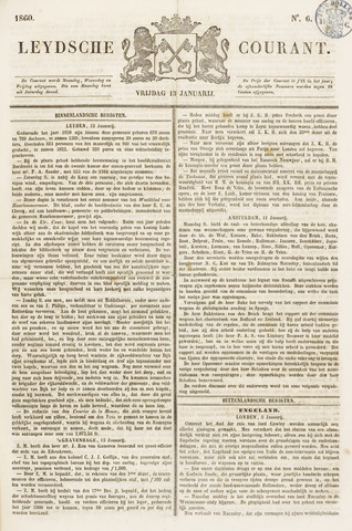 Leydse Courant 1860-01-13