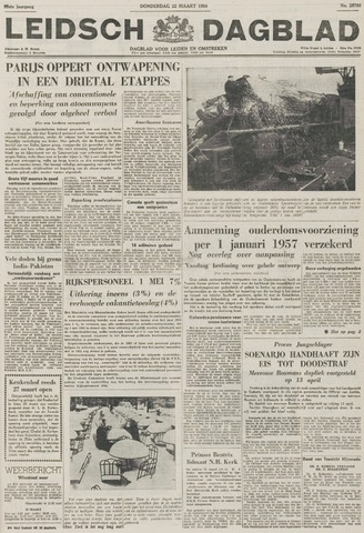 Leidsch Dagblad 1956-03-22