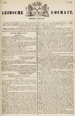 Leydse Courant 1872-03-05