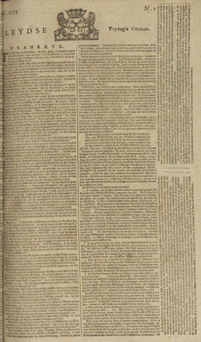 Leydse Courant 1755-01-03