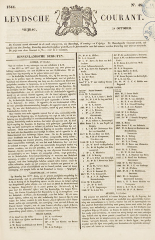 Leydse Courant 1844-10-18