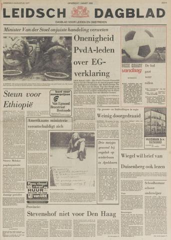 Leidsch Dagblad 1977-08-09