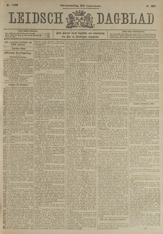 Leidsch Dagblad 1907-10-30
