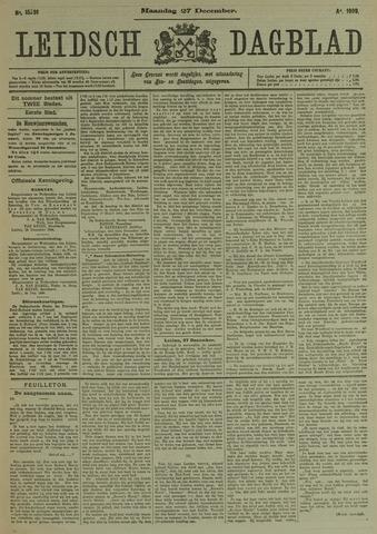 Leidsch Dagblad 1909-12-27