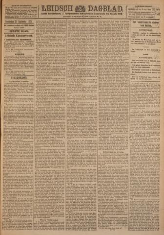 Leidsch Dagblad 1923-09-27