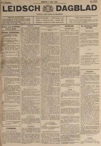 Leidsch Dagblad 1932-07-05