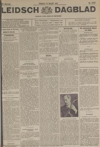Leidsch Dagblad 1933-03-24