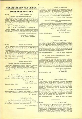 Handelingen van de Raad 1932-03-10