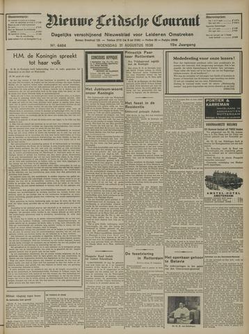 Nieuwe Leidsche Courant 1938-08-31