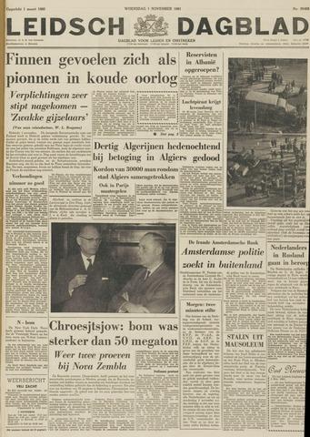 Leidsch Dagblad 1961-11-01