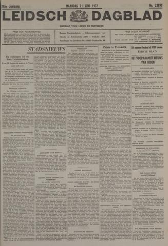 Leidsch Dagblad 1937-06-21