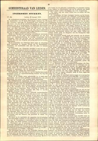 Handelingen van de Raad 1919-01-28