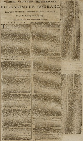 Leydse Courant 1795-07-22
